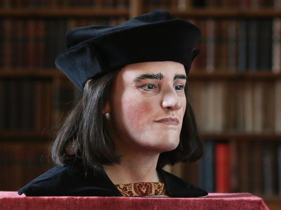 The facial reconstruction of King Richard III. Photography by Dan Kitwood, Getty Images via National Geographic News
