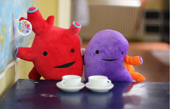 Plush organs, $20 from I Heart Guts