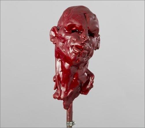 Roderick Tye, Head, c.1990's wax © The Artist's Estate